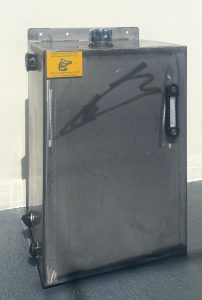 Bespoke hydraulic oil and fuel tank