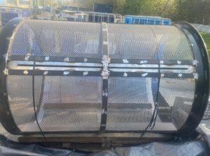 Custom engineering built cage