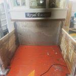 Bespoke deck divider for the Royal Escape