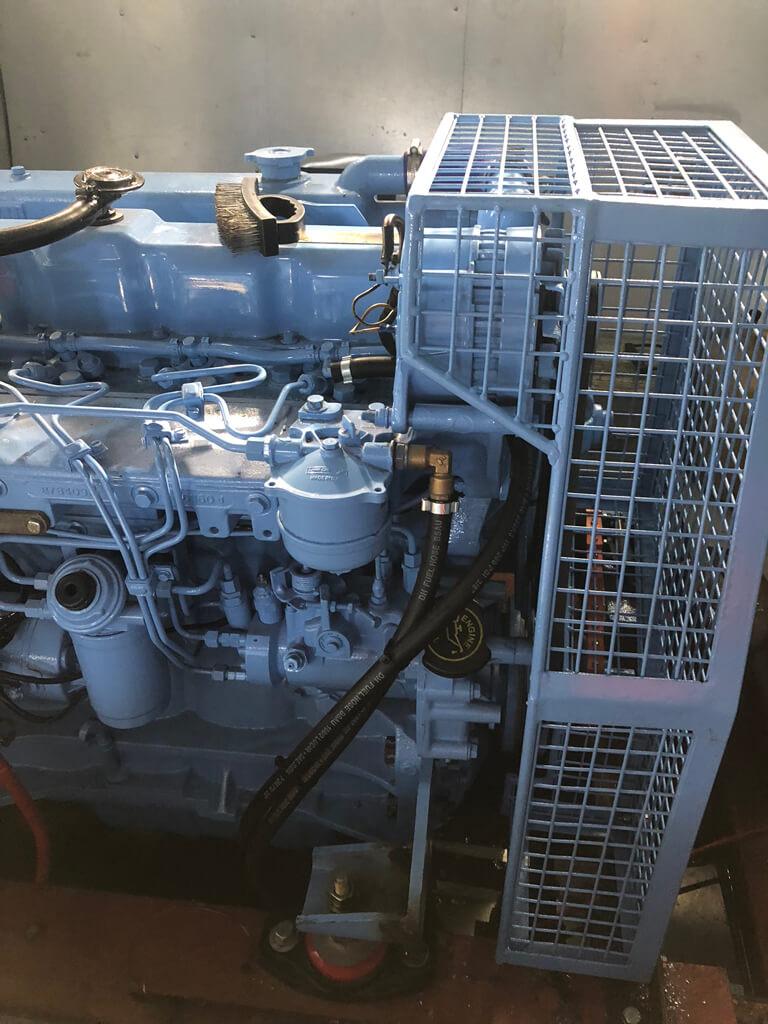 Close up shot of SM Engineering's bespoke machinery guarding