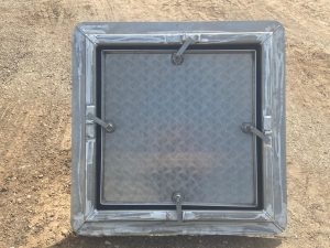 Bespoke Deck Hatch by SM Engineering