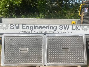 Bespoke Stainless Steel Deck Hatches by SM Engineering