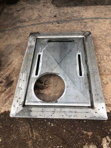 Fabricating a custom deck hatch