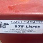 Custom Fuel Tank