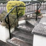 Bespoke powder coated hand rails