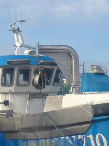 Bespoke Fitted Davit Arm and Hauler mounts