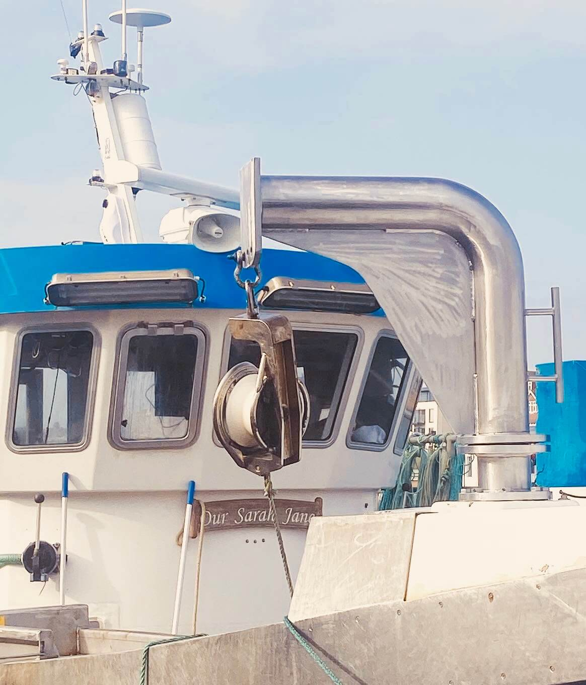Custom Fitted Davit Arm and Hauler mounts