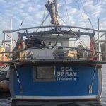 Stainless Steel Gantry for Sea Spray Teignmouth