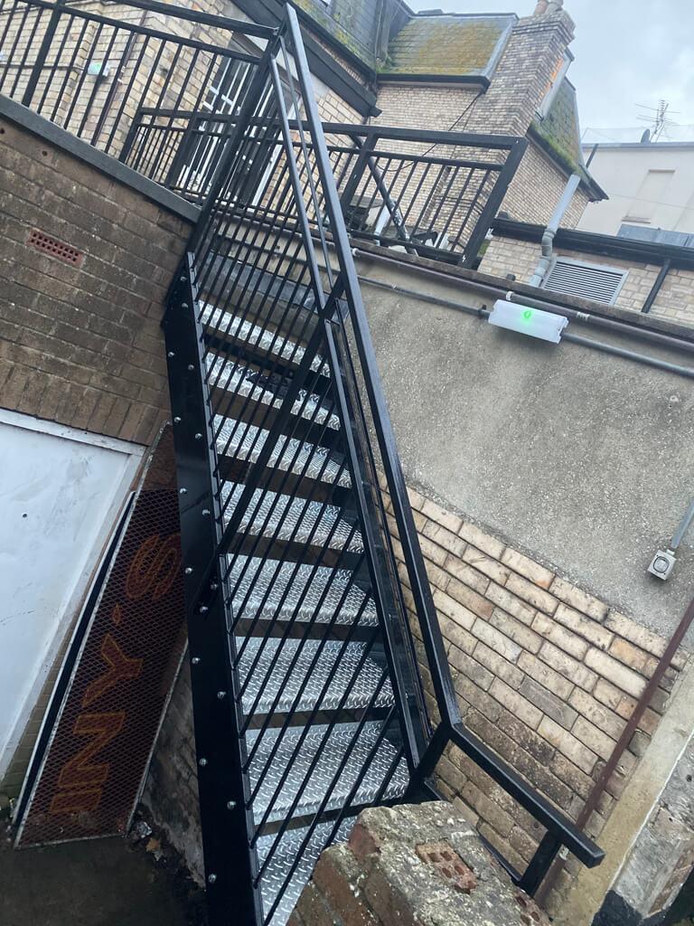 Commercial bespoke walkway