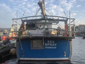 Custom Marine Works on Sea Spray Teignmouth by SM Engineering