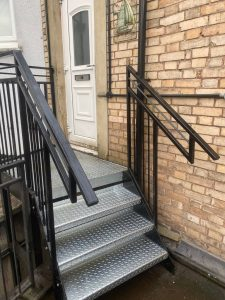 Bespoke safety steps