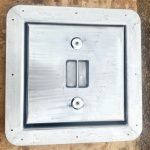 Polished deck hatch by SM Engineering