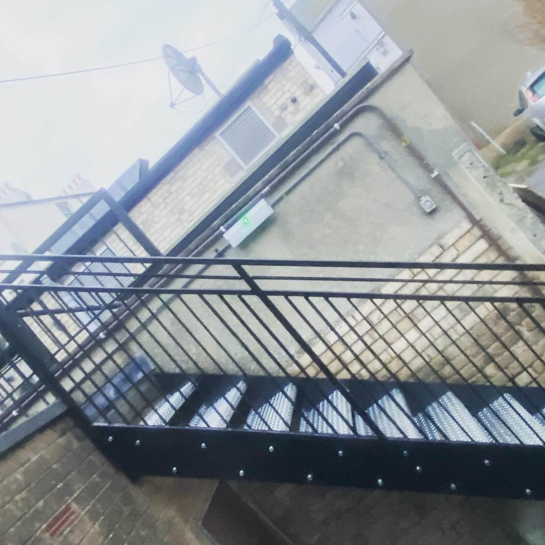 Commercial bespoke fire escape