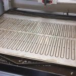 Bespoke Laser Cutting Riddle Tables by SM Engineering