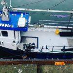 SM Engineering custom installed fabricated boat hatch