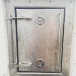 Bespoke bulk head hatch made by SM Engineering