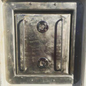 Bulk head hatch for marine industry